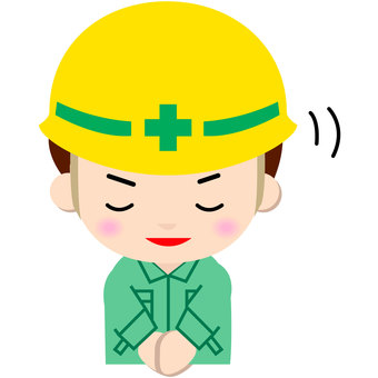 Construction worker _ upper body (thank you)