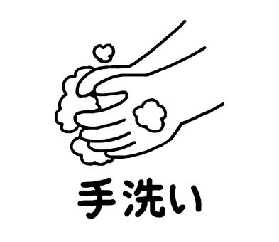 Hand washing (simple)