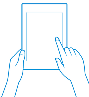 First person viewpoint (e-book reader)