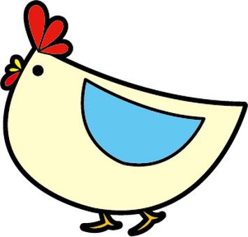 Landscape chicken
