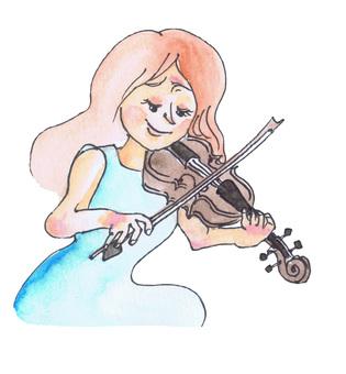 여성 바이올리니스트