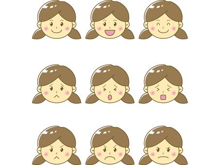 Child / girl face 05