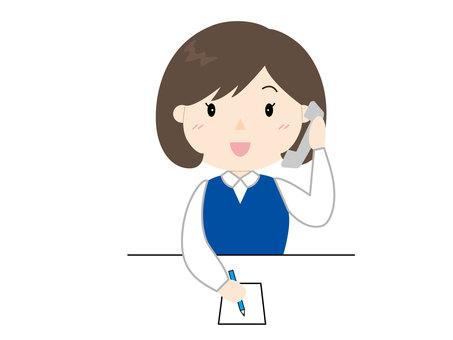 Female clerk 3