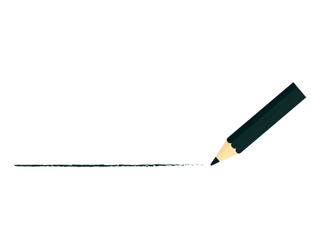 Draw a line with a pencil line