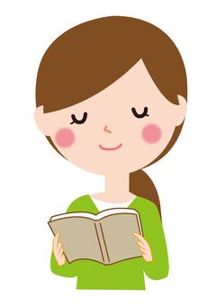 Reading female books