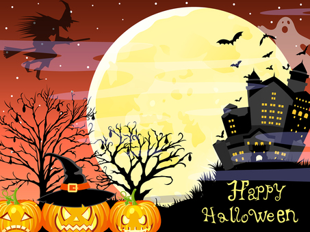 Halloween background 2