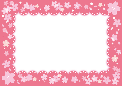 Cherry tree · frame frame (with transparent PNG)