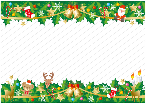 Background with Christmas ornament