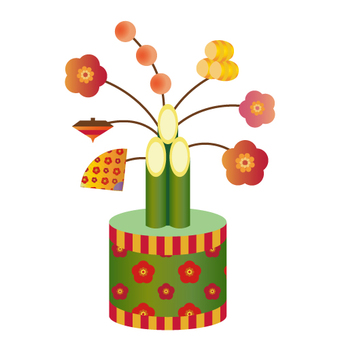 Mini Kadomatsu (New Year's decoration)