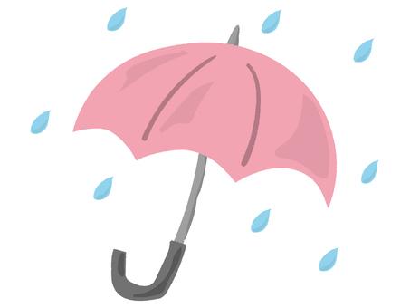Umbrella Rain Pink 1