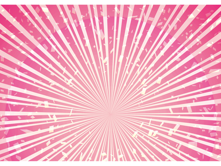 분홍색 연 분홍색 벚꽃 색 방사선 프레임 집중 선