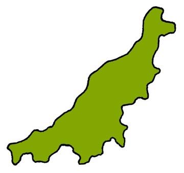 Niigata prefecture (no island)