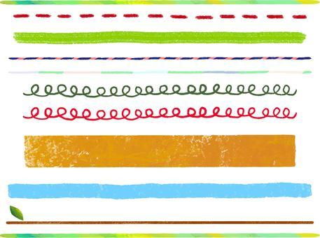 Line variation set