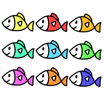 Fish colorful