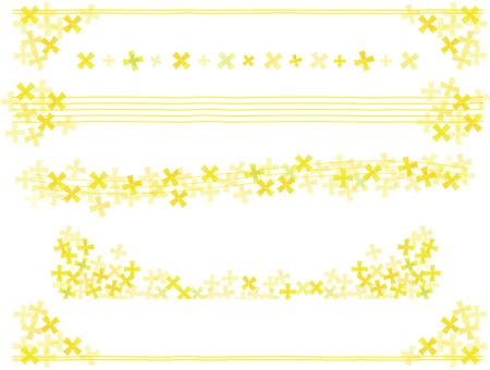 黃色花線集