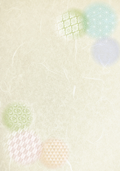 Beige color Japanese paper pattern texture background vertical