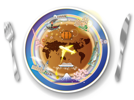 Let's eat on a world trip!