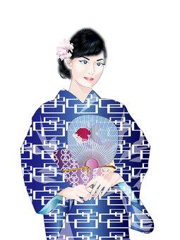 Yukata female 13