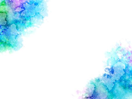 Watercolor frame ver 01