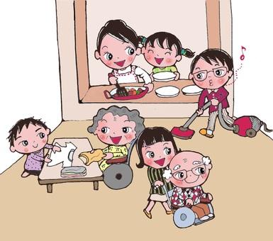 親密的家人