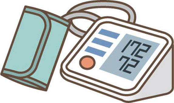 Blood pressure monitor illustration