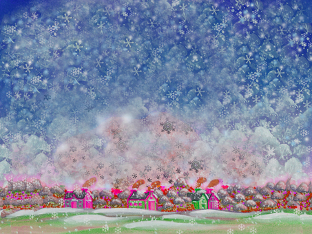 Townscape _ Snow Forest 03