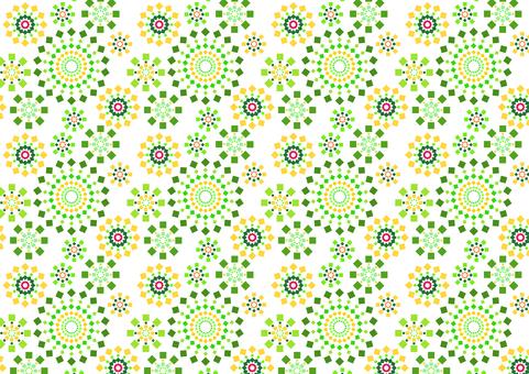 Fireworks texture - green