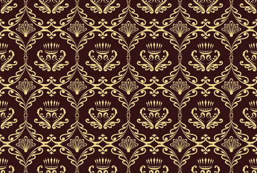 ダマスク織パターン2