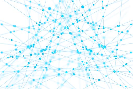 흰색 네트워크 기술 추상 배경 소재