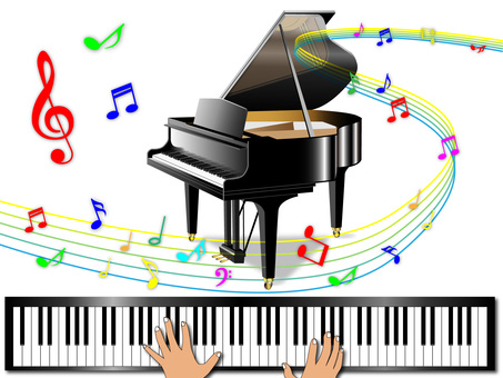 Piano (with keyboard)