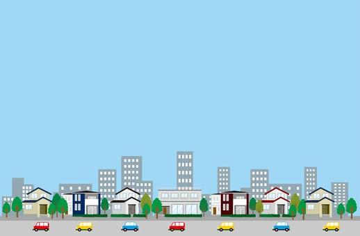 201802_ Housing Illustration Building Sky