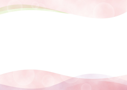 Watercolor glitter wave background red / pink