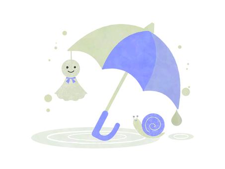 Rainy season illustration 07