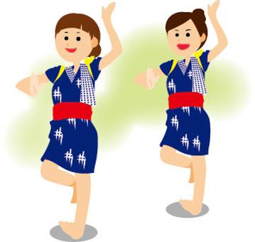 Acer hand dancing