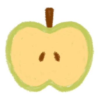 Green apple (cross section) 2
