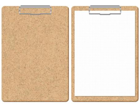 Cork binder