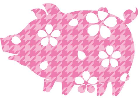 Pork (cherry blossoms) 5