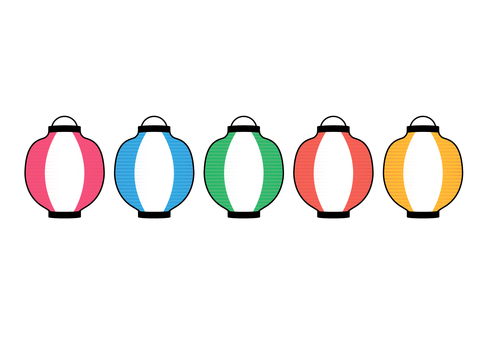 Colorful lantern