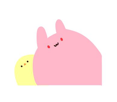 뿔 토끼 & amp; 뿔 ひよ