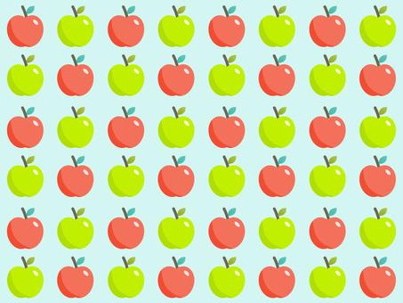 Pop apple pattern background pattern material