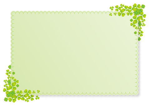 Katabami frame, background, A4 horizontal, with paint