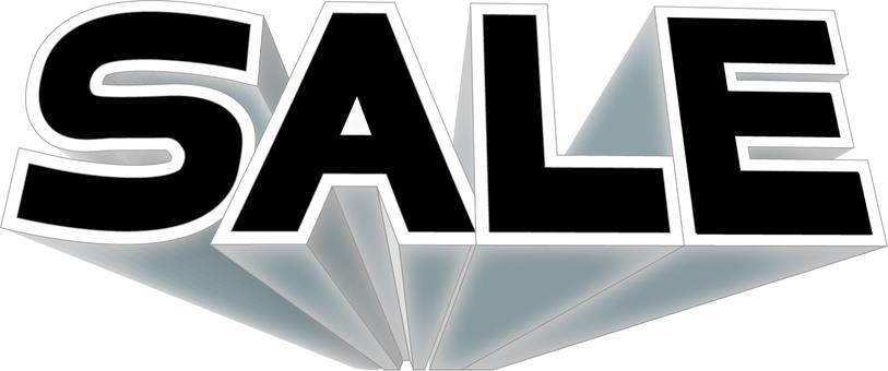 SALE solid black logo