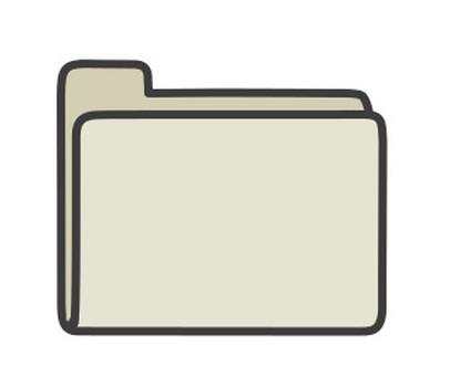 Close the folder