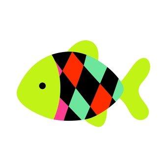 五顏六色的魚8