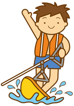 Water Skiing 2-4c