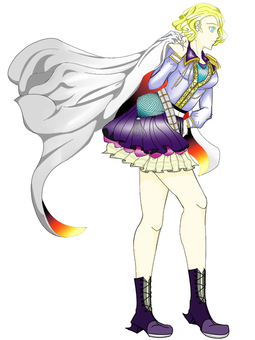 Original fantasy style female character
