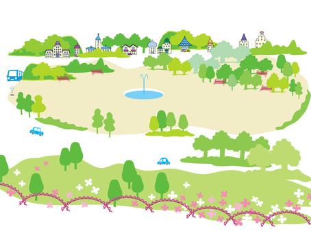 Townscape _ Park 02