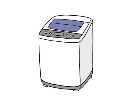 Simple washing machine