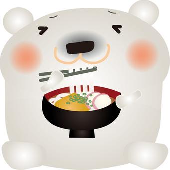 White noodle