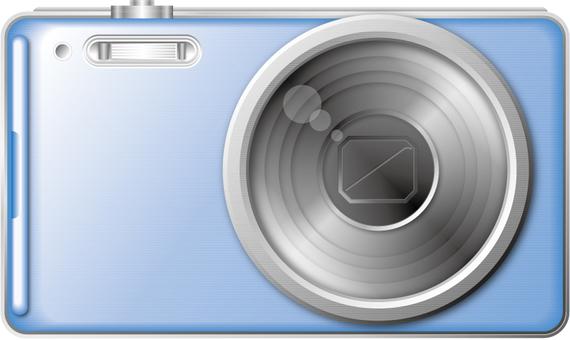 Digital camera 1 (blue)